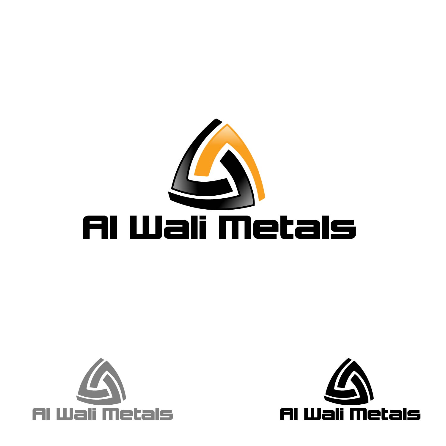 Logo Design by lagalag - Entry No. 141 in the Logo Design Contest Inspiring Logo Design for Al Wali Metals.