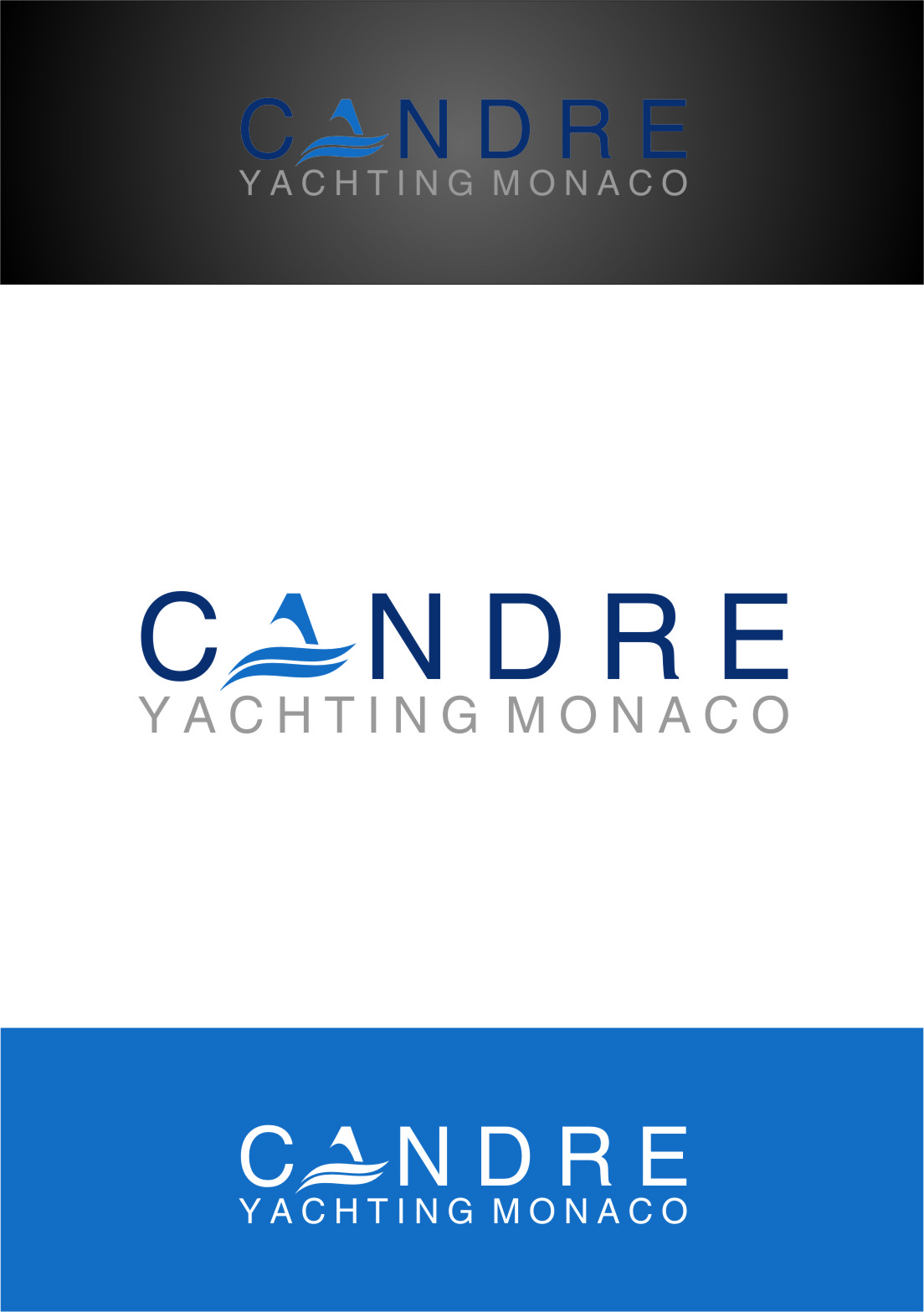 Logo Design by Ngepet_art - Entry No. 24 in the Logo Design Contest New Logo Design for Cadre Yachting Monaco.