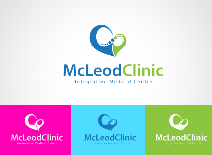 Logo Design by Jan Chua - Entry No. 33 in the Logo Design Contest Creative Logo Design for McLeod Clinic.