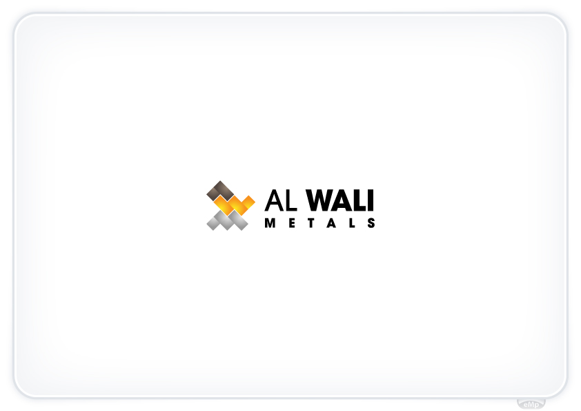 Logo Design by eMp - Entry No. 158 in the Logo Design Contest Inspiring Logo Design for Al Wali Metals.