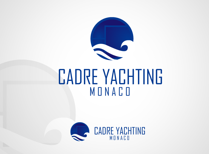 Logo Design by Jan Chua - Entry No. 44 in the Logo Design Contest New Logo Design for Cadre Yachting Monaco.
