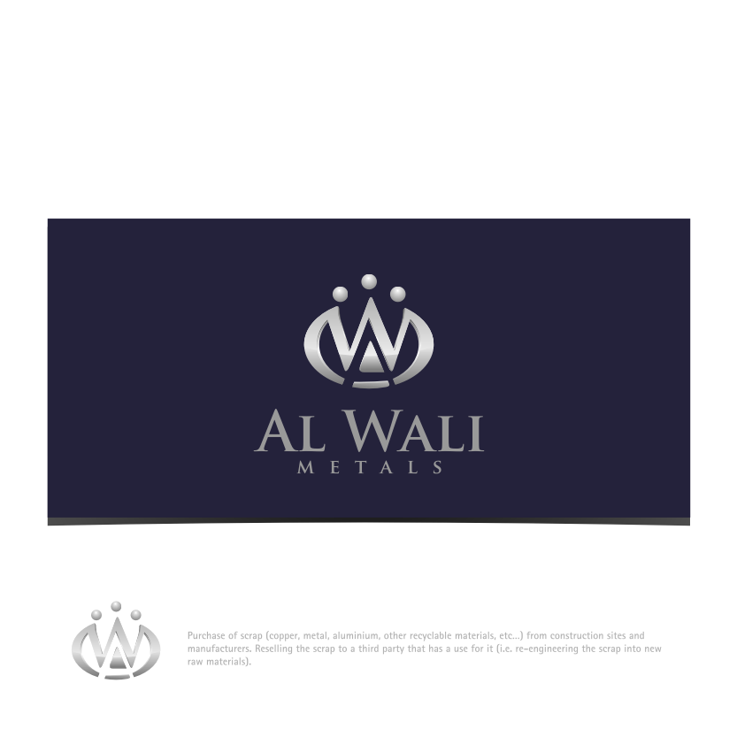 Logo Design by graphicleaf - Entry No. 170 in the Logo Design Contest Inspiring Logo Design for Al Wali Metals.