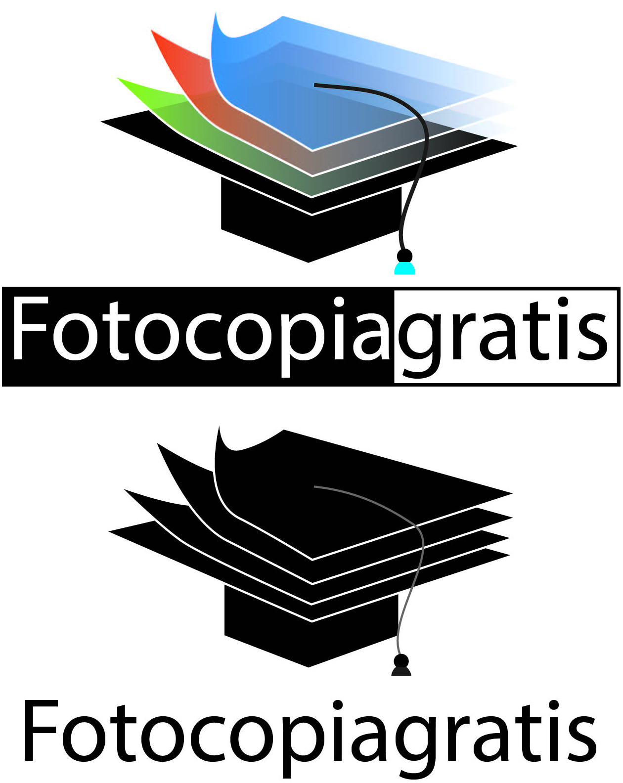 Logo Design by Ronel Billona - Entry No. 17 in the Logo Design Contest Inspiring Logo Design for Fotocopiagratis.