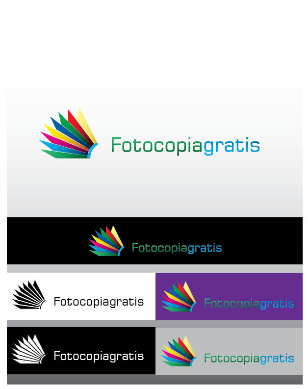 Logo Design by Chris Cowan - Entry No. 19 in the Logo Design Contest Inspiring Logo Design for Fotocopiagratis.