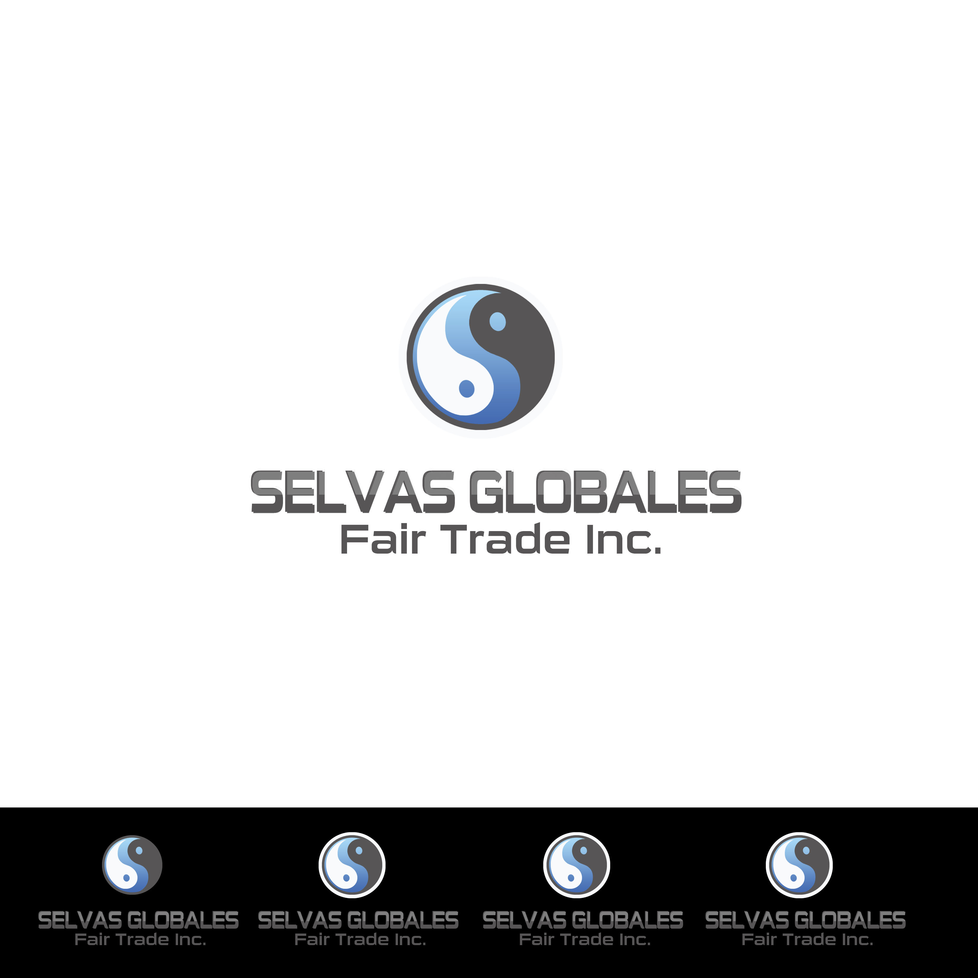 Logo Design by Alan Esclamado - Entry No. 7 in the Logo Design Contest Captivating Logo Design for Selvas Globales Fair Trade Inc..