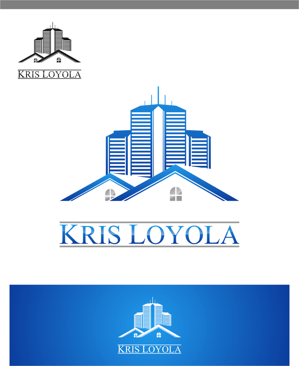 Logo Design by RasYa Muhammad Athaya - Entry No. 132 in the Logo Design Contest Kris Loyola Logo Design.
