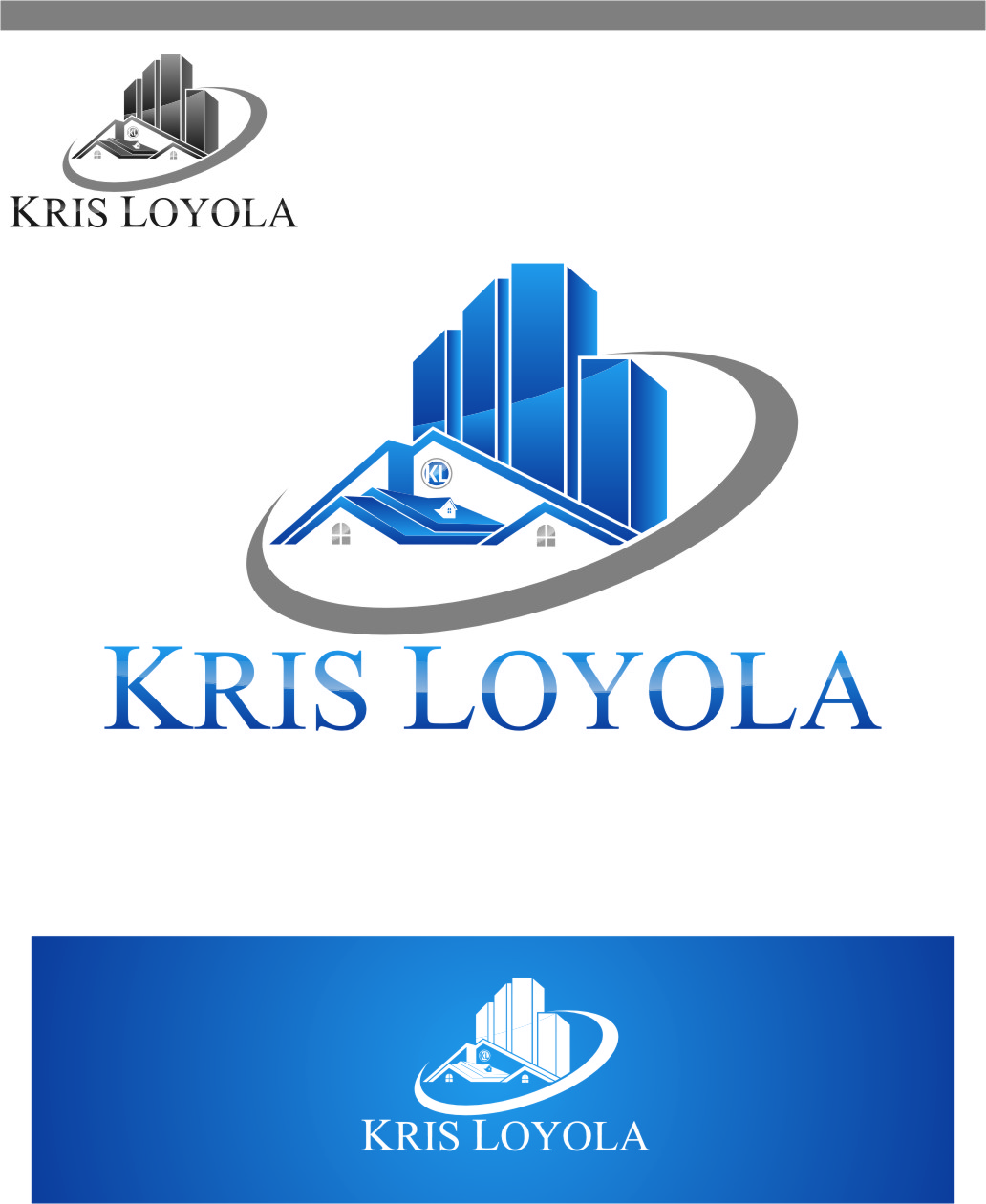 Logo Design by Ngepet_art - Entry No. 134 in the Logo Design Contest Kris Loyola Logo Design.