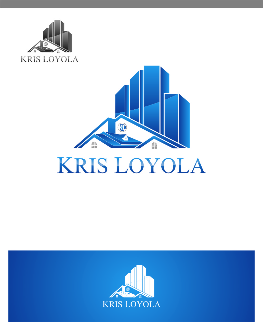 Logo Design by RasYa Muhammad Athaya - Entry No. 135 in the Logo Design Contest Kris Loyola Logo Design.