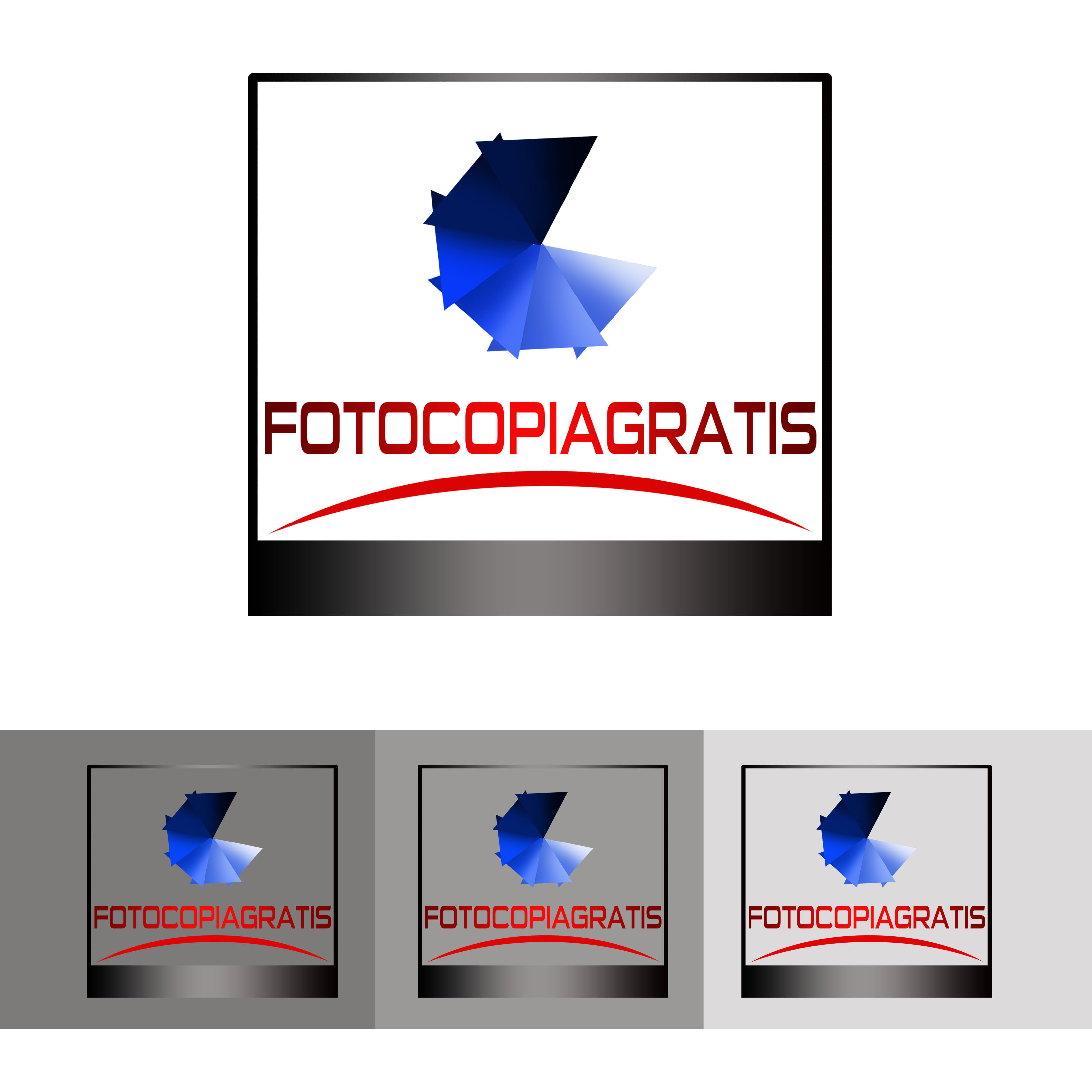 Logo Design by Alan Esclamado - Entry No. 20 in the Logo Design Contest Inspiring Logo Design for Fotocopiagratis.