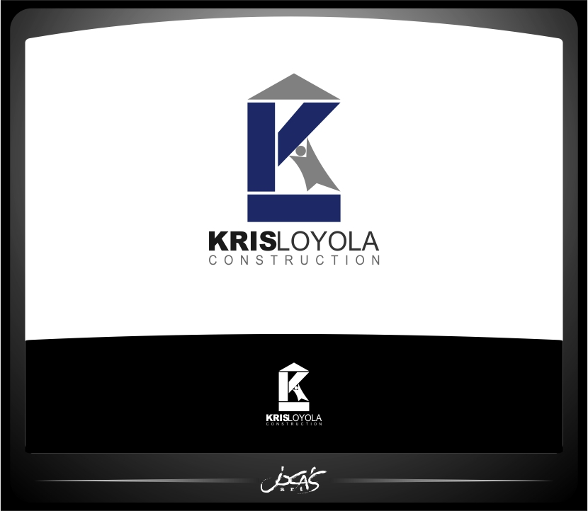 Logo Design by joca - Entry No. 136 in the Logo Design Contest Kris Loyola Logo Design.