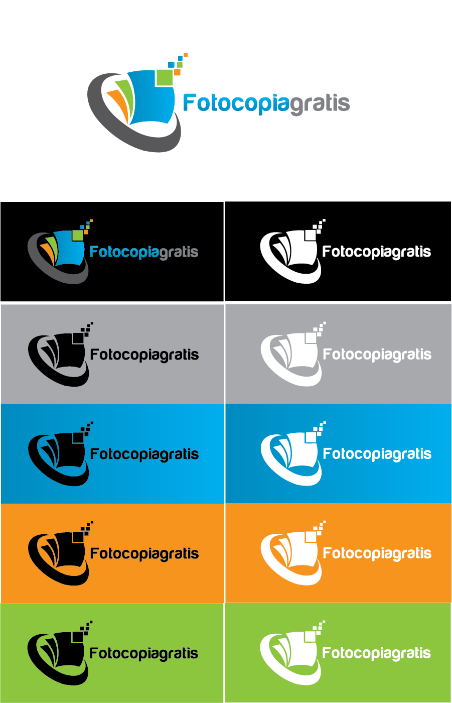Logo Design by Private User - Entry No. 23 in the Logo Design Contest Inspiring Logo Design for Fotocopiagratis.