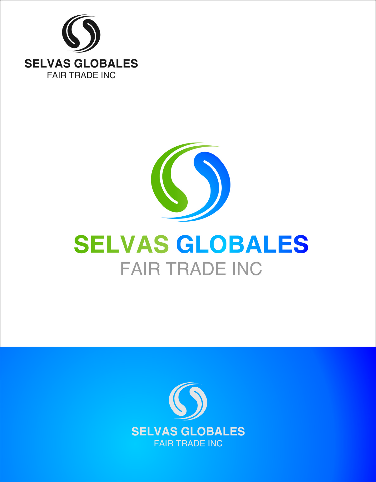 Logo Design by RasYa Muhammad Athaya - Entry No. 14 in the Logo Design Contest Captivating Logo Design for Selvas Globales Fair Trade Inc..