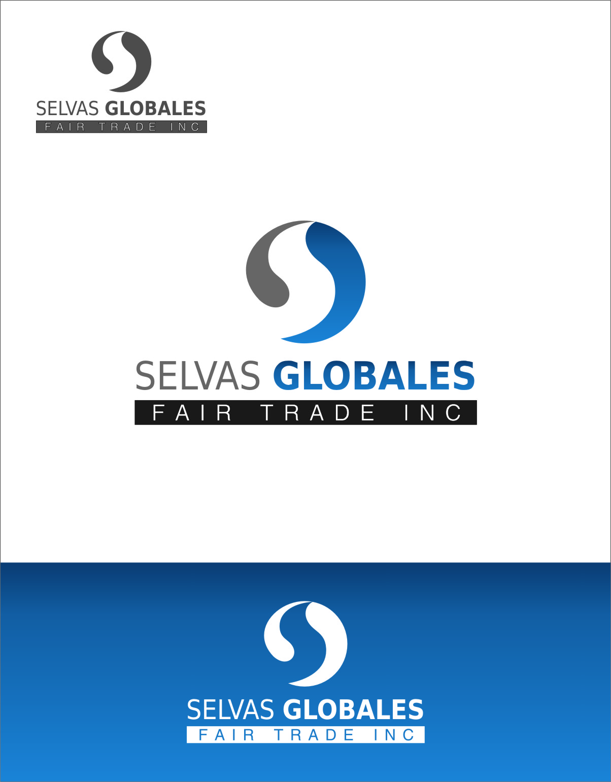 Logo Design by Ngepet_art - Entry No. 15 in the Logo Design Contest Captivating Logo Design for Selvas Globales Fair Trade Inc..