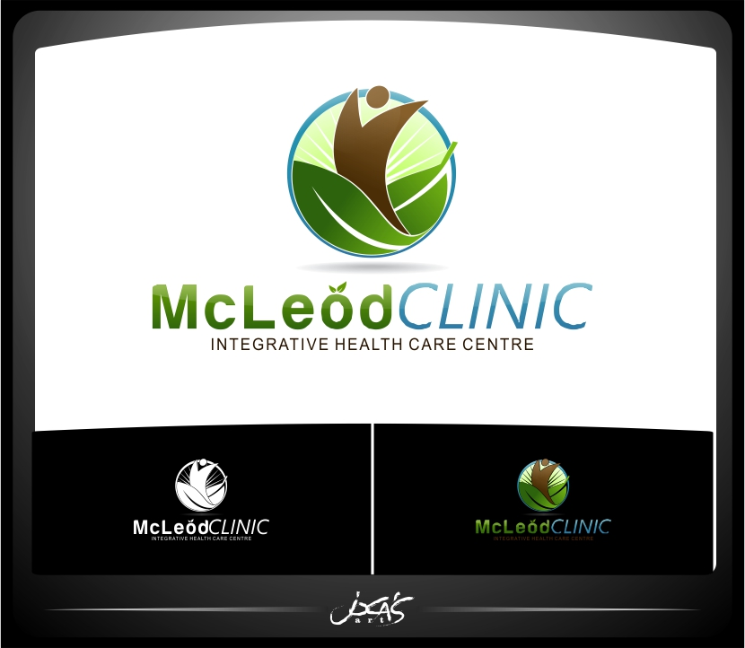Logo Design by joca - Entry No. 54 in the Logo Design Contest Creative Logo Design for McLeod Clinic.