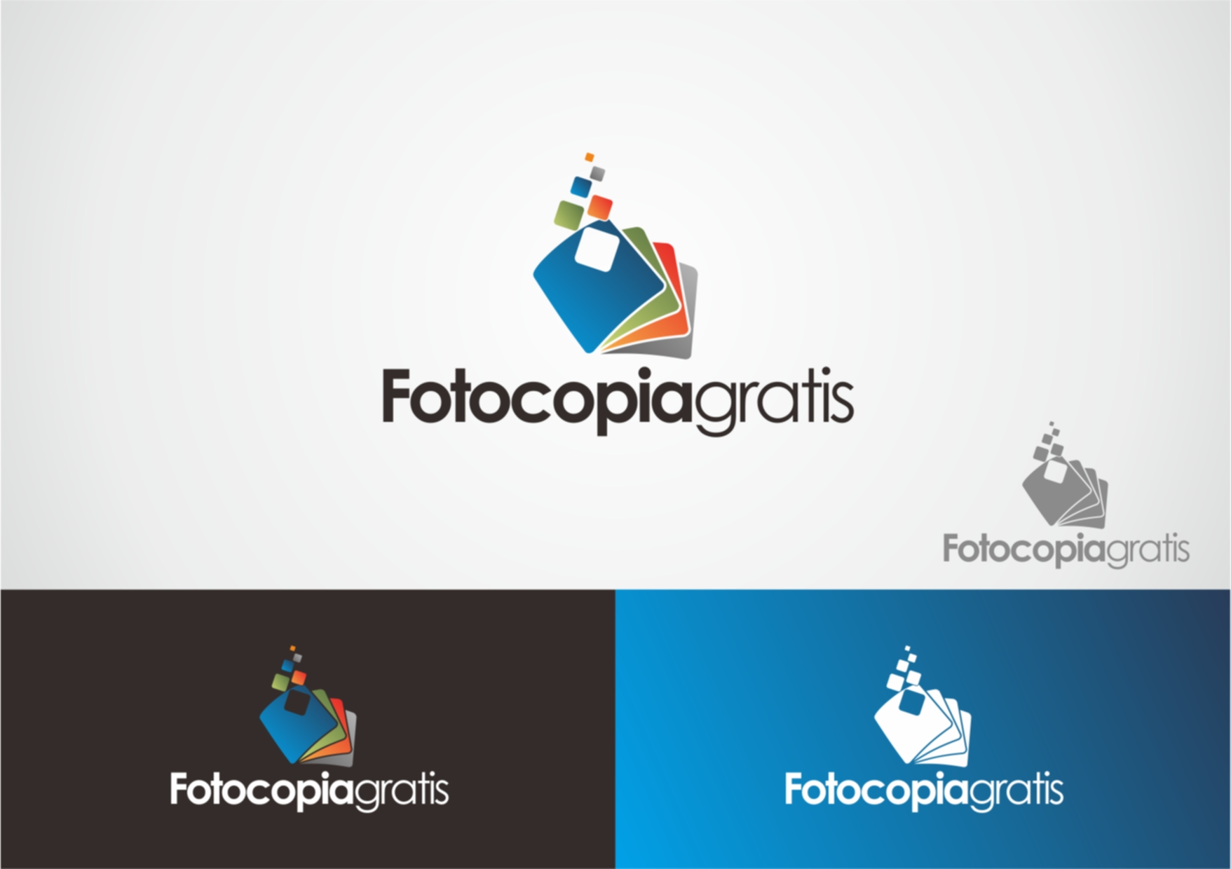 Logo Design by Private User - Entry No. 26 in the Logo Design Contest Inspiring Logo Design for Fotocopiagratis.