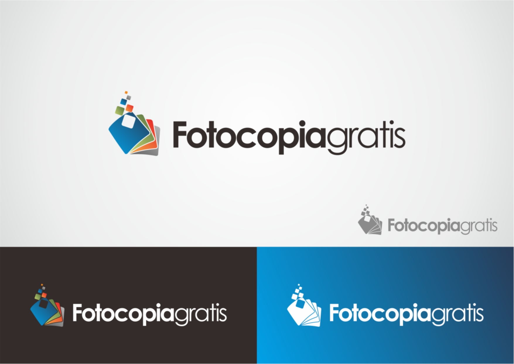 Logo Design by Private User - Entry No. 27 in the Logo Design Contest Inspiring Logo Design for Fotocopiagratis.