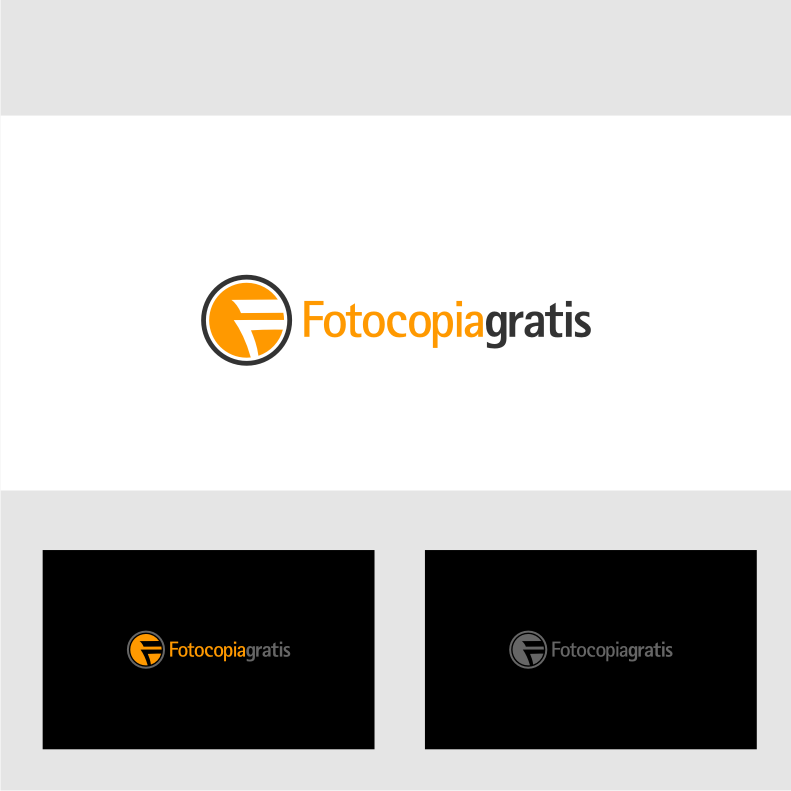 Logo Design by graphicleaf - Entry No. 29 in the Logo Design Contest Inspiring Logo Design for Fotocopiagratis.