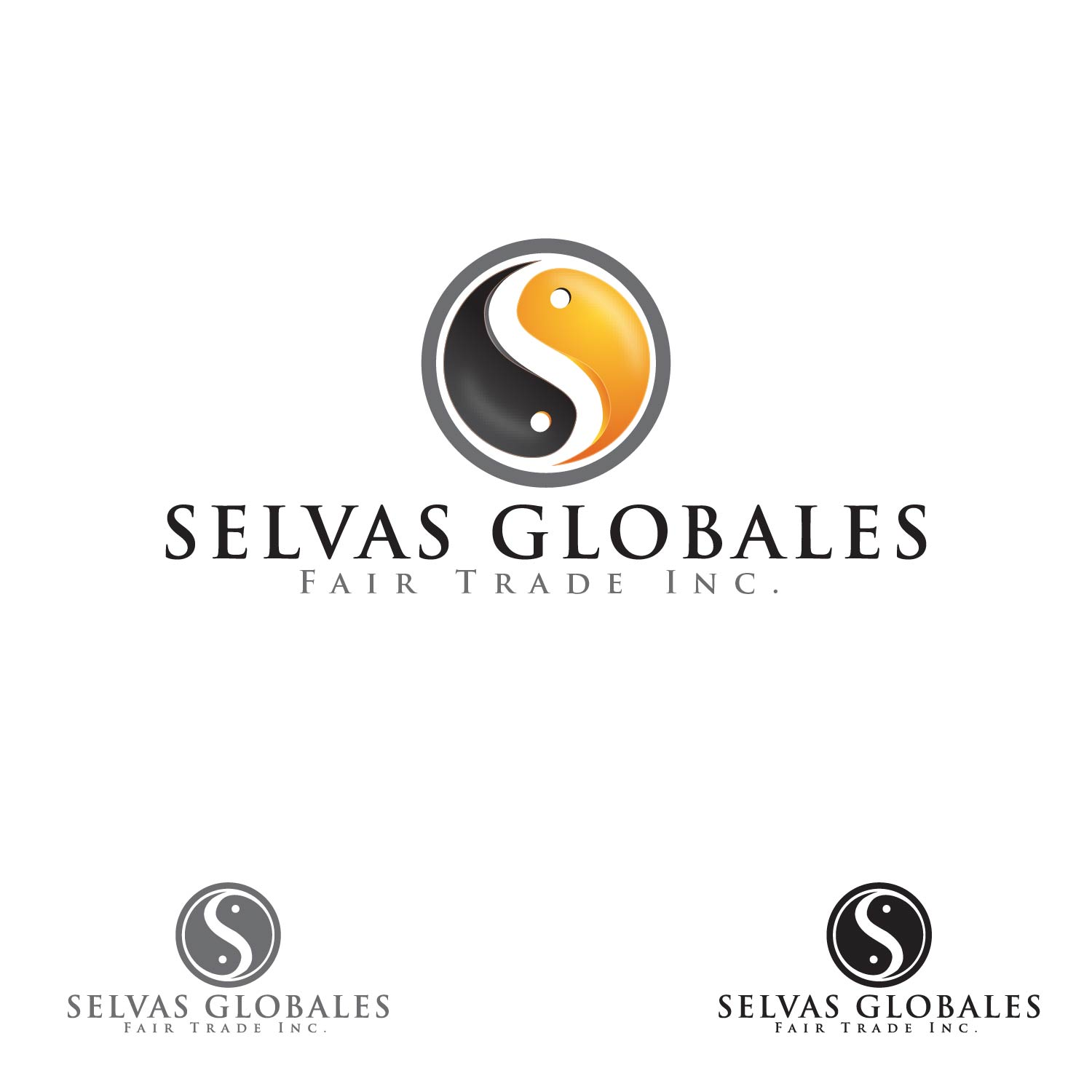 Logo Design by lagalag - Entry No. 19 in the Logo Design Contest Captivating Logo Design for Selvas Globales Fair Trade Inc..