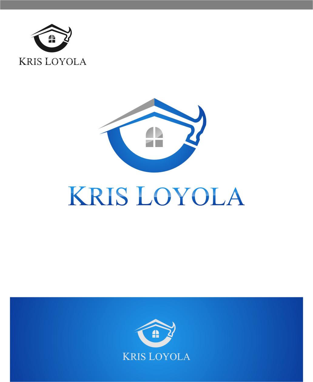 Logo Design by RasYa Muhammad Athaya - Entry No. 166 in the Logo Design Contest Kris Loyola Logo Design.