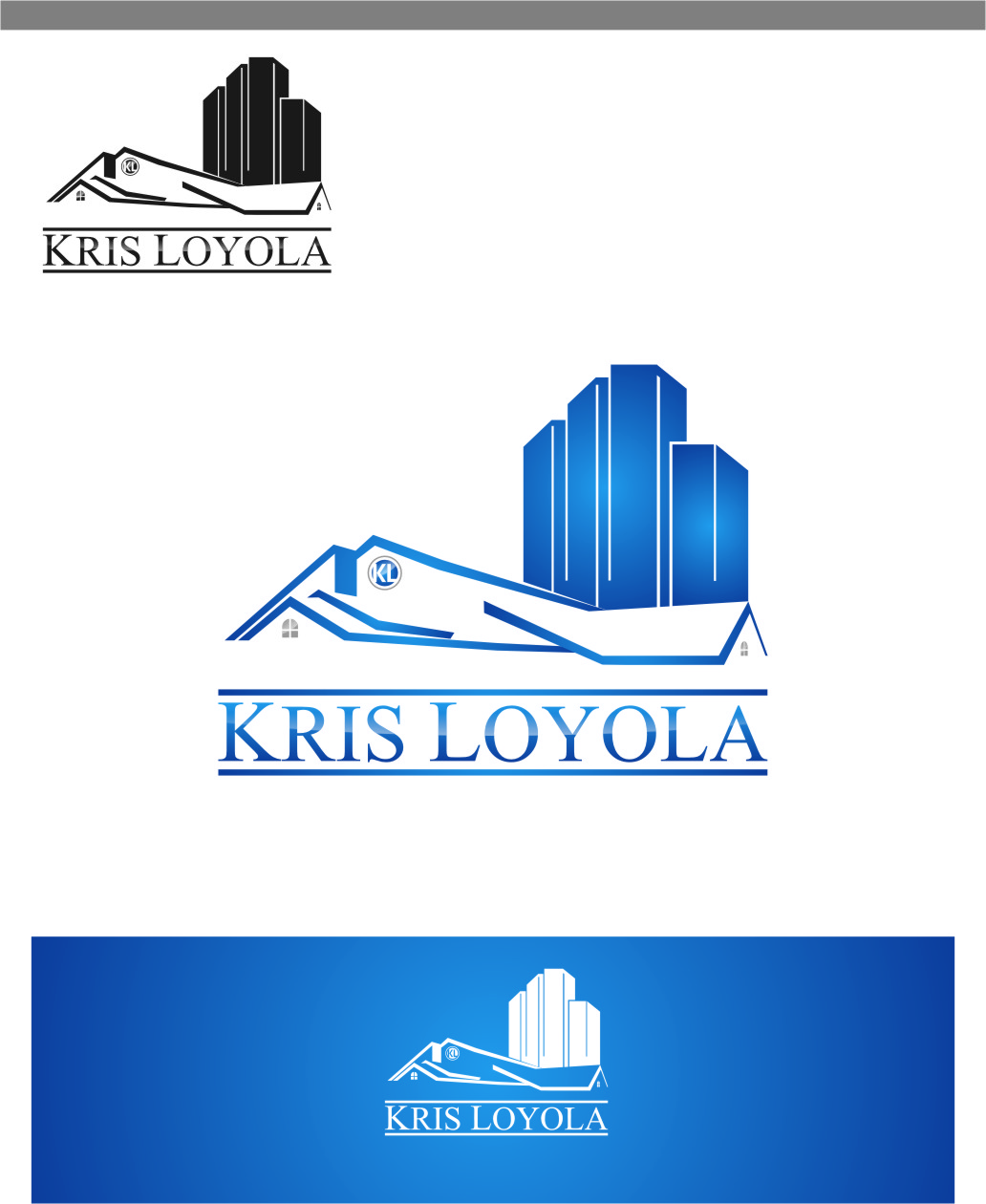 Logo Design by RasYa Muhammad Athaya - Entry No. 168 in the Logo Design Contest Kris Loyola Logo Design.