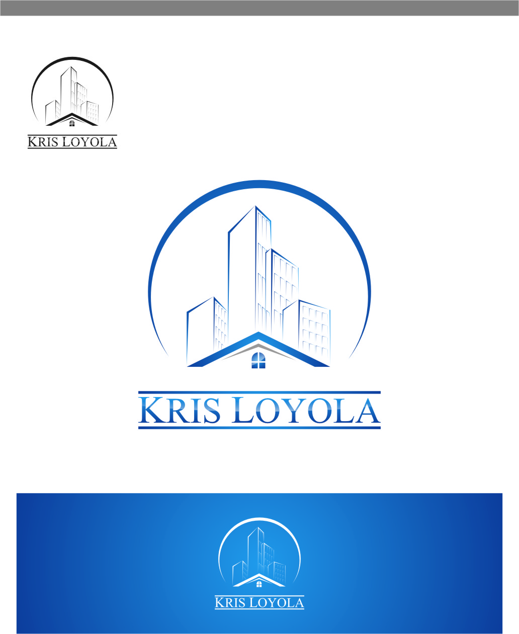 Logo Design by RasYa Muhammad Athaya - Entry No. 169 in the Logo Design Contest Kris Loyola Logo Design.