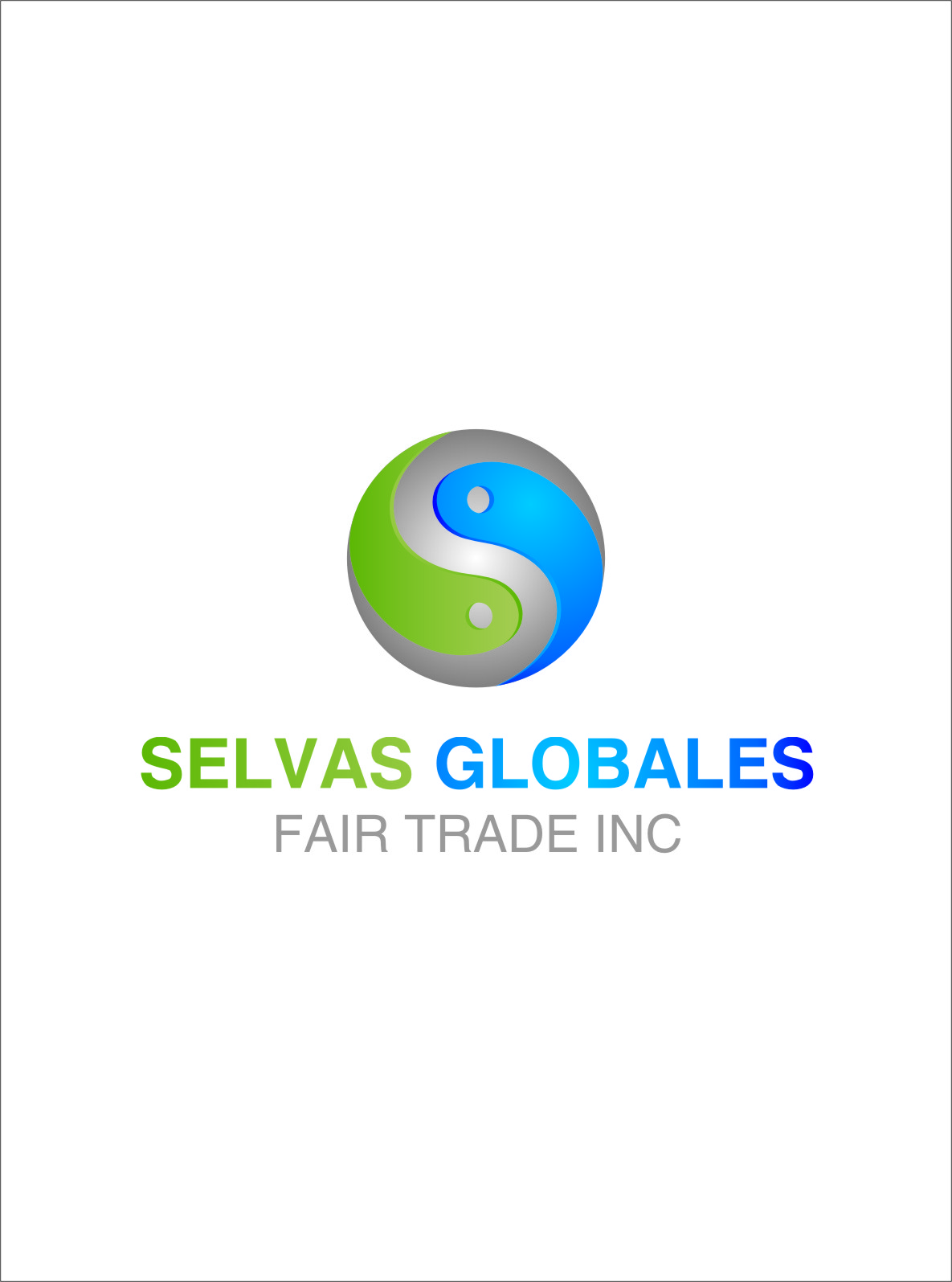 Logo Design by RoSyid Rono-Rene On Java - Entry No. 21 in the Logo Design Contest Captivating Logo Design for Selvas Globales Fair Trade Inc..