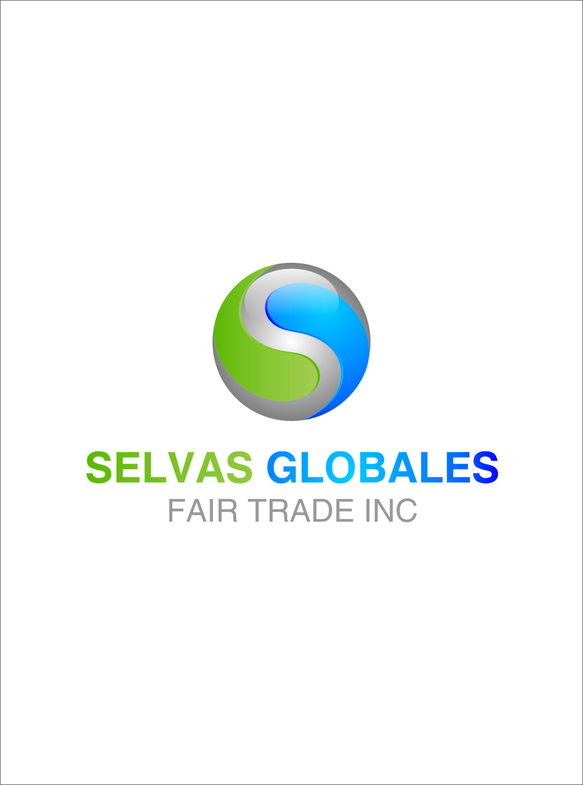 Logo Design by RasYa Muhammad Athaya - Entry No. 22 in the Logo Design Contest Captivating Logo Design for Selvas Globales Fair Trade Inc..