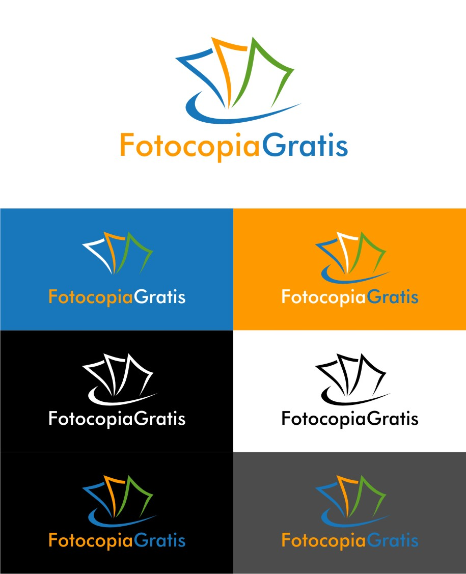 Logo Design by untung - Entry No. 36 in the Logo Design Contest Inspiring Logo Design for Fotocopiagratis.