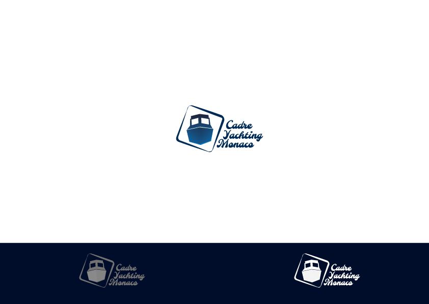 Logo Design by Private User - Entry No. 112 in the Logo Design Contest New Logo Design for Cadre Yachting Monaco.