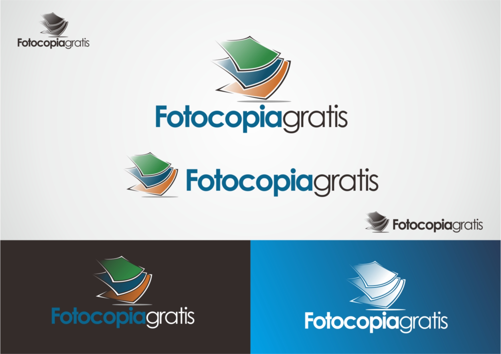 Logo Design by Private User - Entry No. 40 in the Logo Design Contest Inspiring Logo Design for Fotocopiagratis.