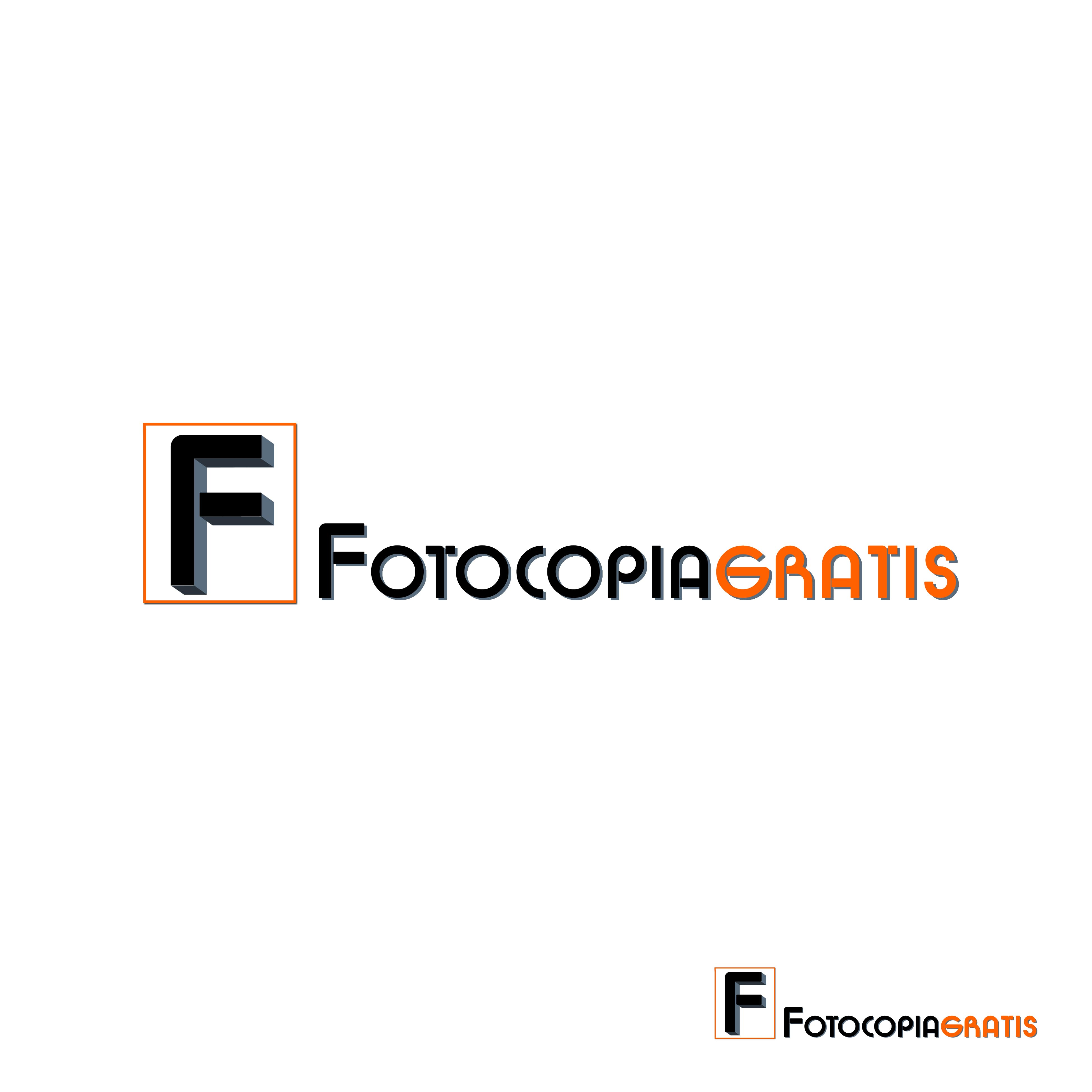 Logo Design by Cesar III Sotto - Entry No. 41 in the Logo Design Contest Inspiring Logo Design for Fotocopiagratis.
