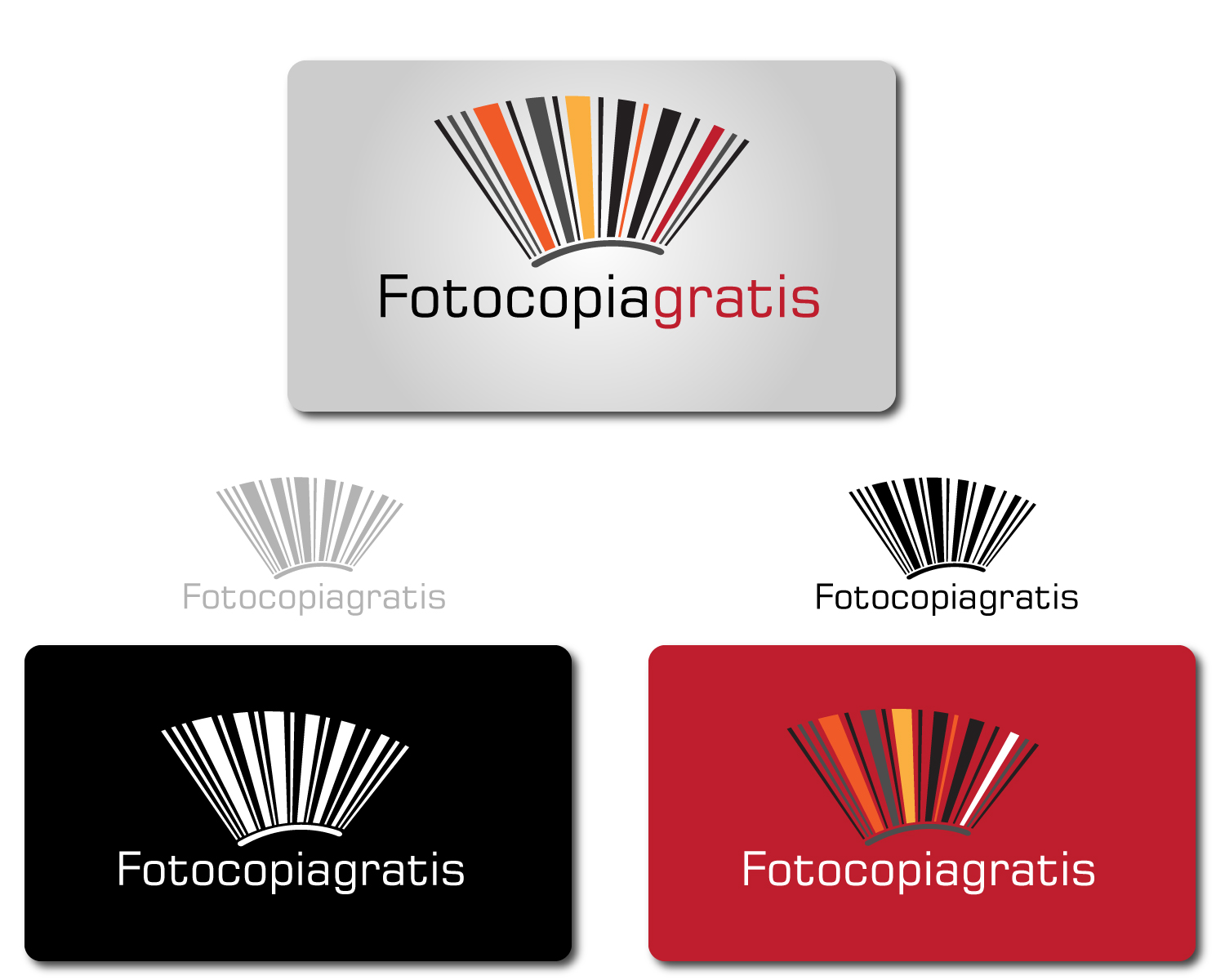 Logo Design by Jagdeep Singh - Entry No. 42 in the Logo Design Contest Inspiring Logo Design for Fotocopiagratis.