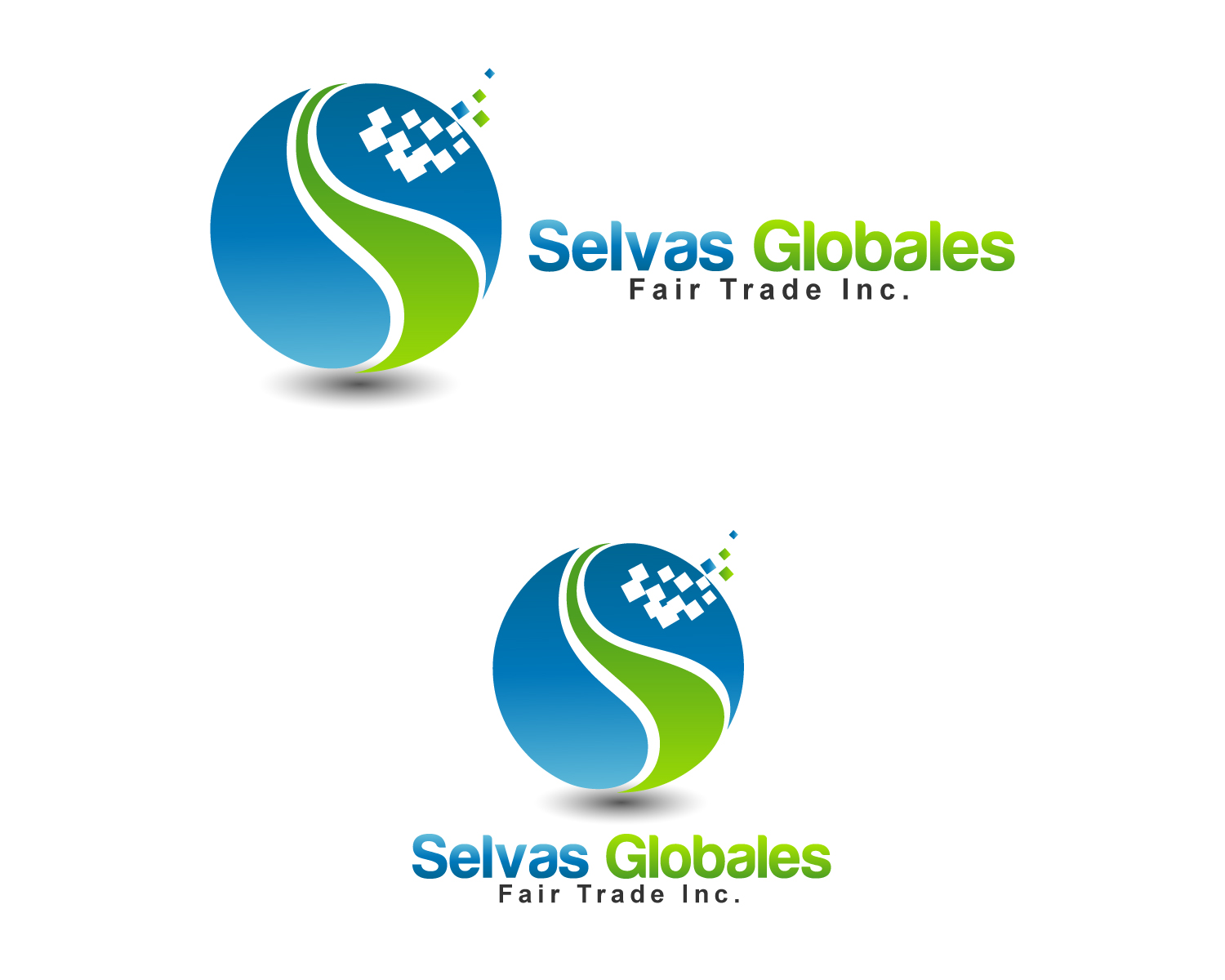 Logo Design by Jagdeep Singh - Entry No. 27 in the Logo Design Contest Captivating Logo Design for Selvas Globales Fair Trade Inc..