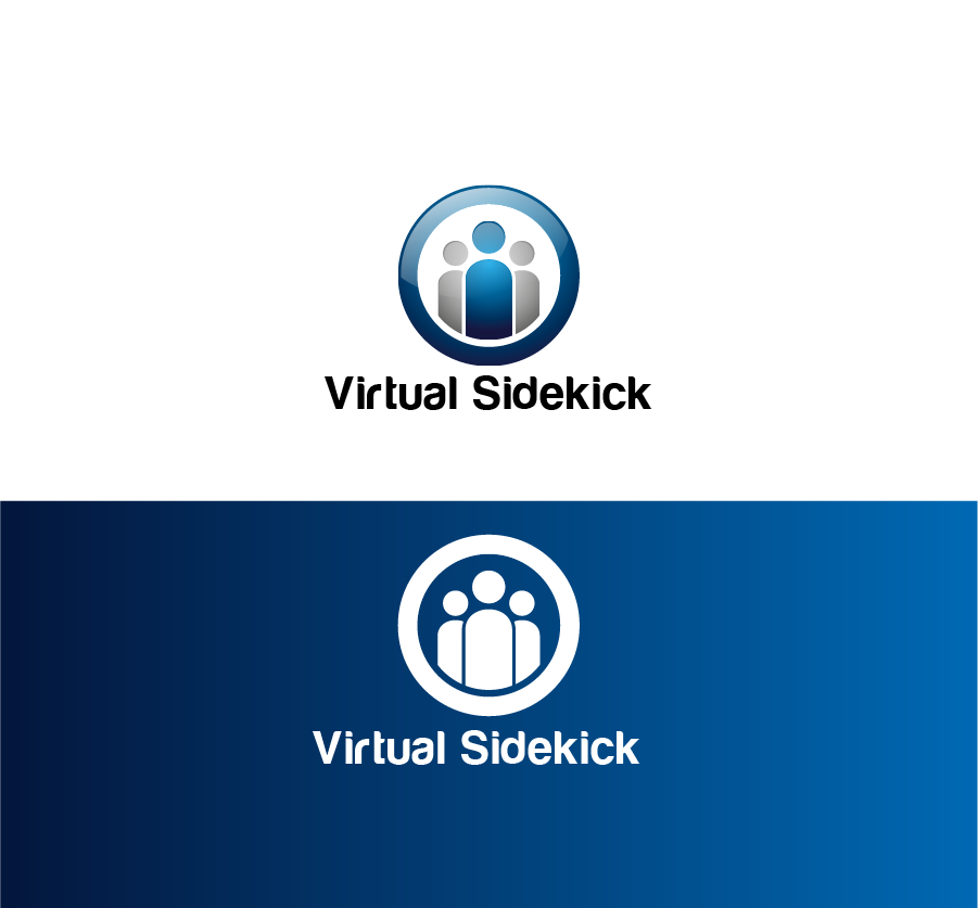 Logo Design by Private User - Entry No. 1 in the Logo Design Contest Fun Logo Design for Virtual Sidekick.
