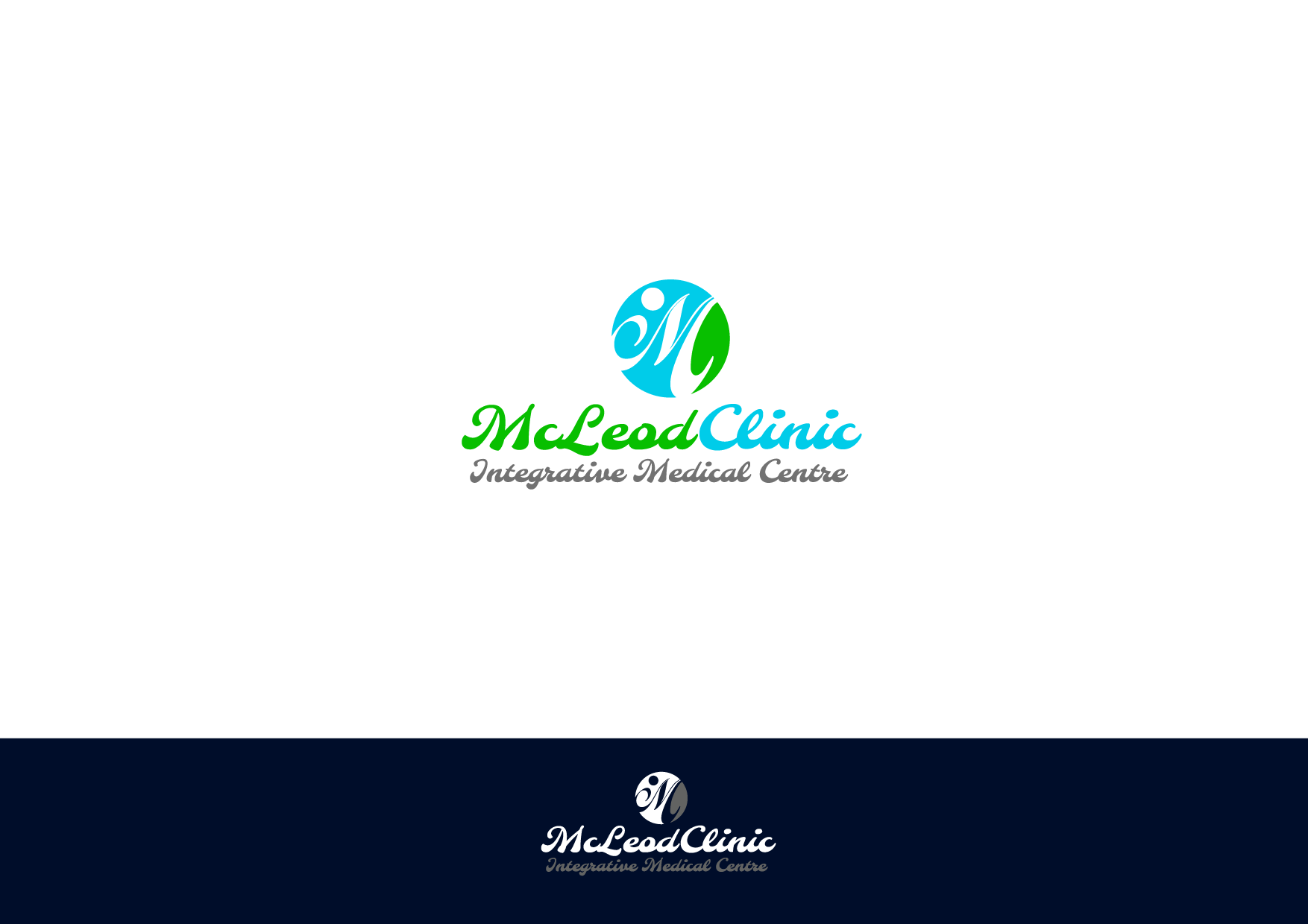 Logo Design by Private User - Entry No. 80 in the Logo Design Contest Creative Logo Design for McLeod Clinic.