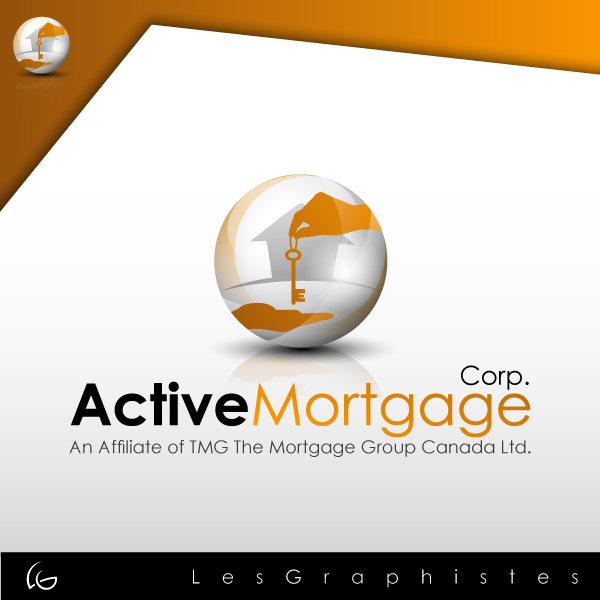 Logo Design by Les-Graphistes - Entry No. 133 in the Logo Design Contest Active Mortgage Corp..
