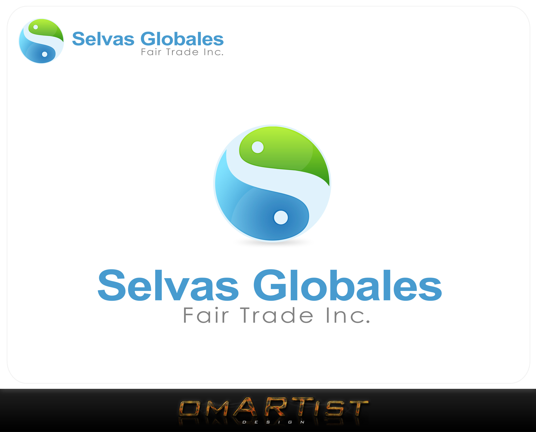 Logo Design by omARTist - Entry No. 37 in the Logo Design Contest Captivating Logo Design for Selvas Globales Fair Trade Inc..