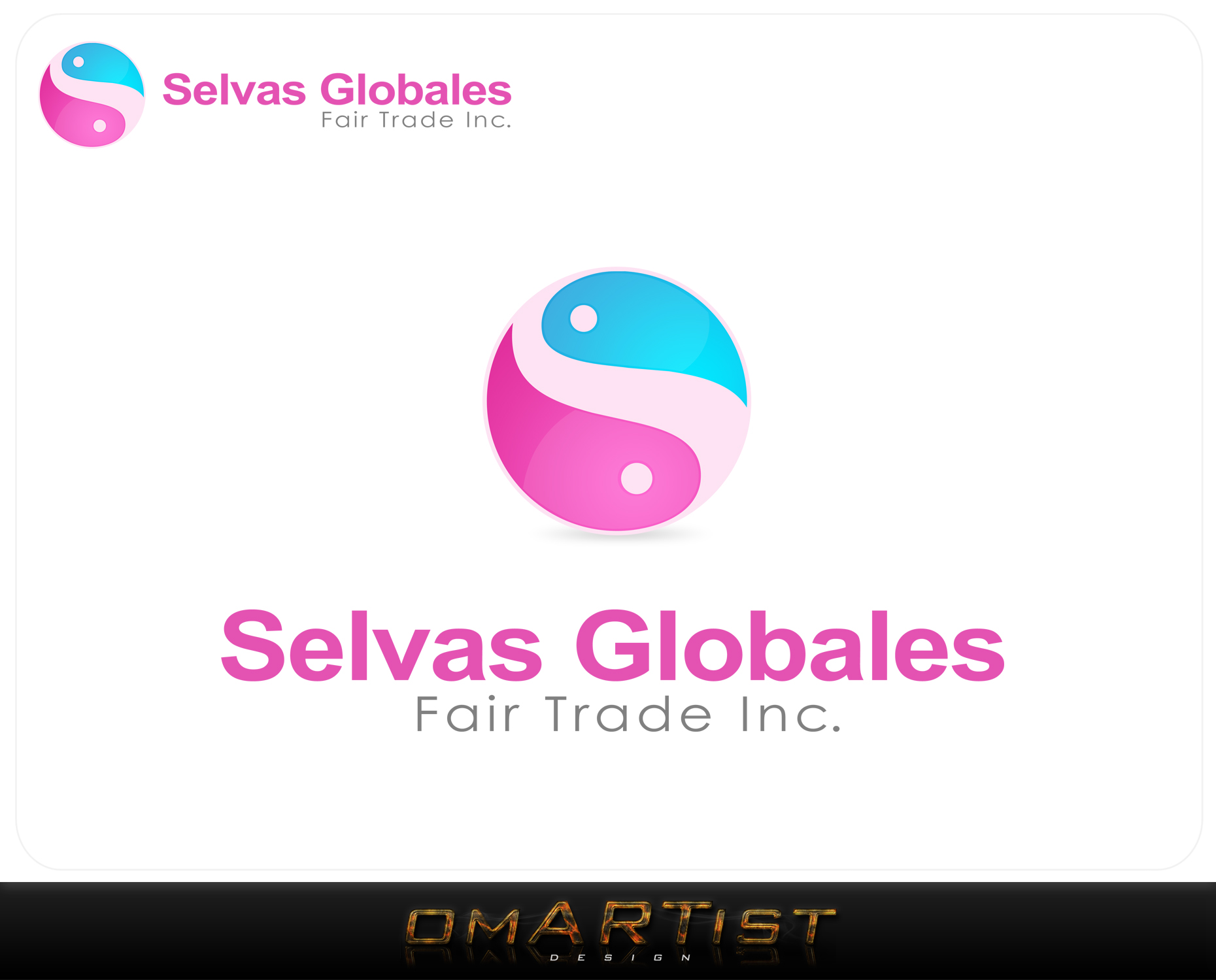 Logo Design by omARTist - Entry No. 38 in the Logo Design Contest Captivating Logo Design for Selvas Globales Fair Trade Inc..