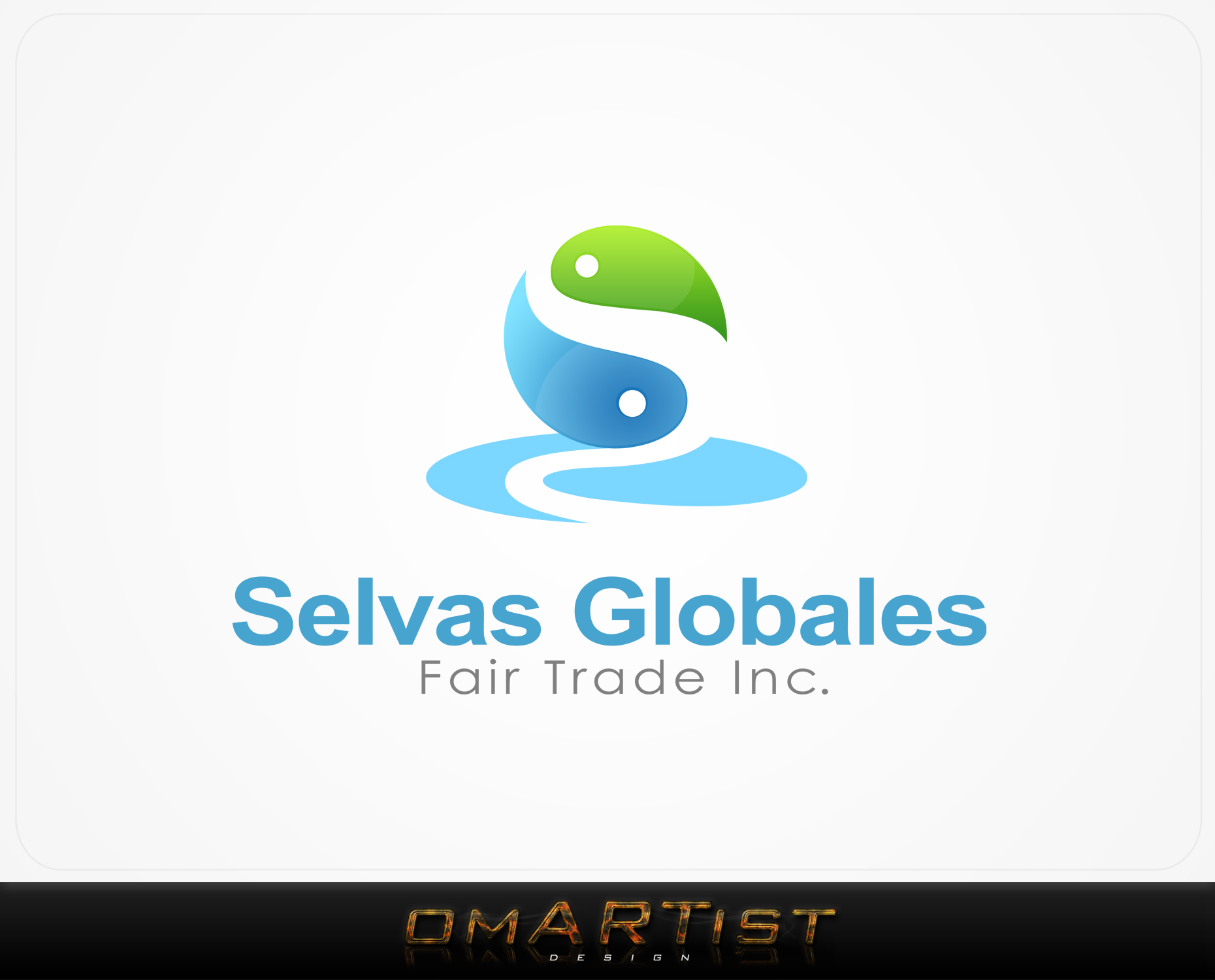 Logo Design by omARTist - Entry No. 39 in the Logo Design Contest Captivating Logo Design for Selvas Globales Fair Trade Inc..