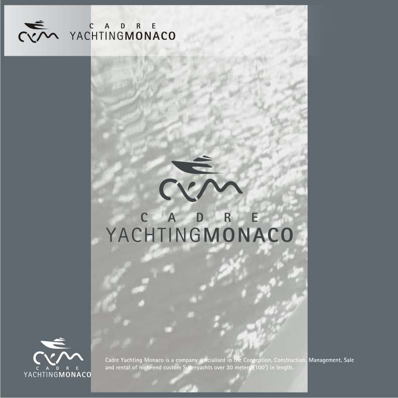 Logo Design by graphicleaf - Entry No. 121 in the Logo Design Contest New Logo Design for Cadre Yachting Monaco.