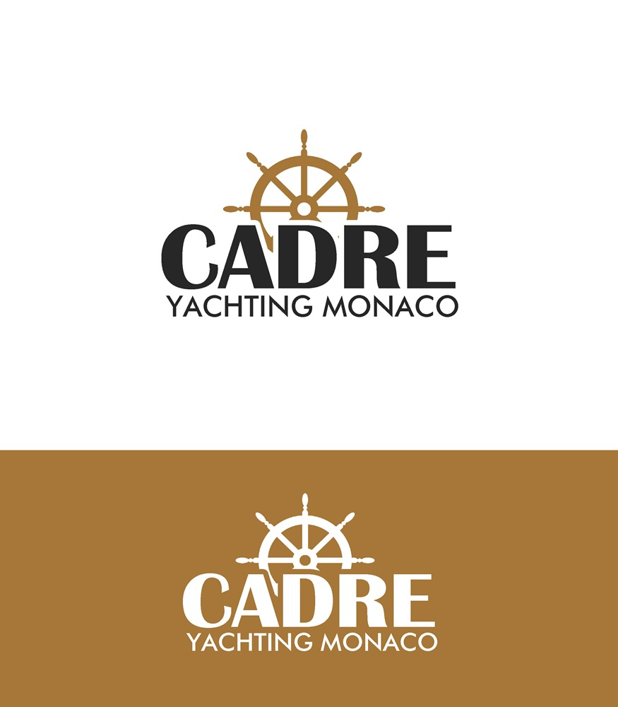 Logo Design by Respati Himawan - Entry No. 122 in the Logo Design Contest New Logo Design for Cadre Yachting Monaco.