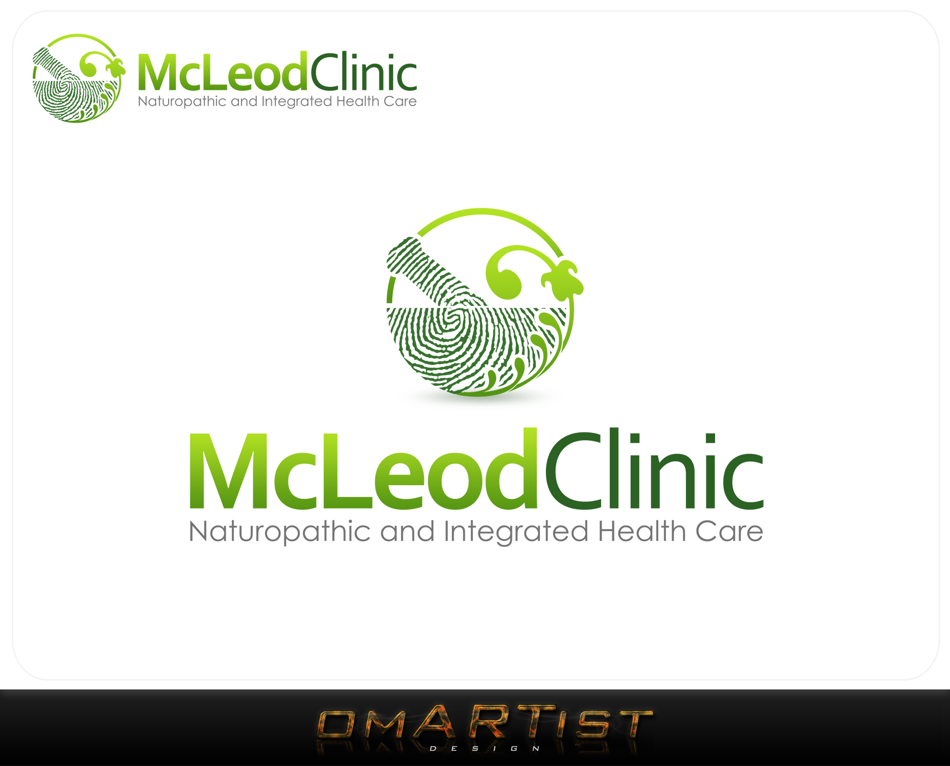 Logo Design by omARTist - Entry No. 101 in the Logo Design Contest Creative Logo Design for McLeod Clinic.