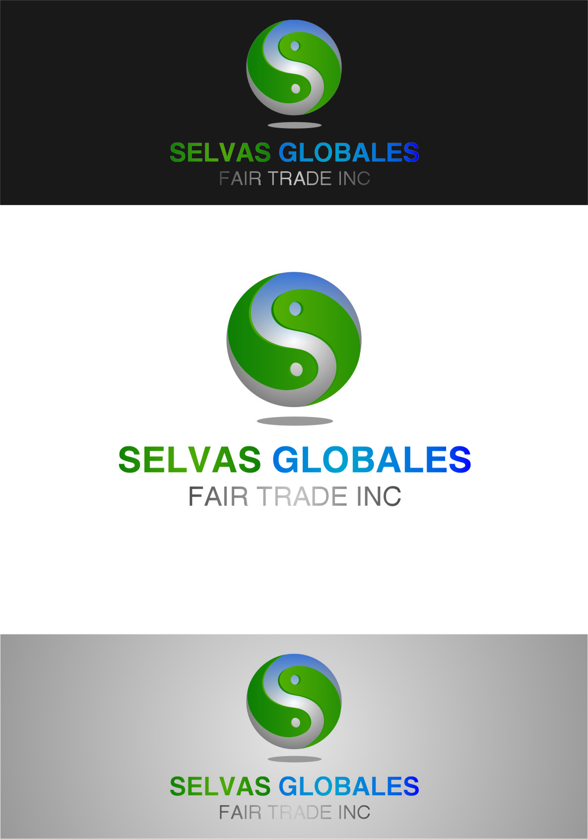 Logo Design by Ngepet_art - Entry No. 45 in the Logo Design Contest Captivating Logo Design for Selvas Globales Fair Trade Inc..