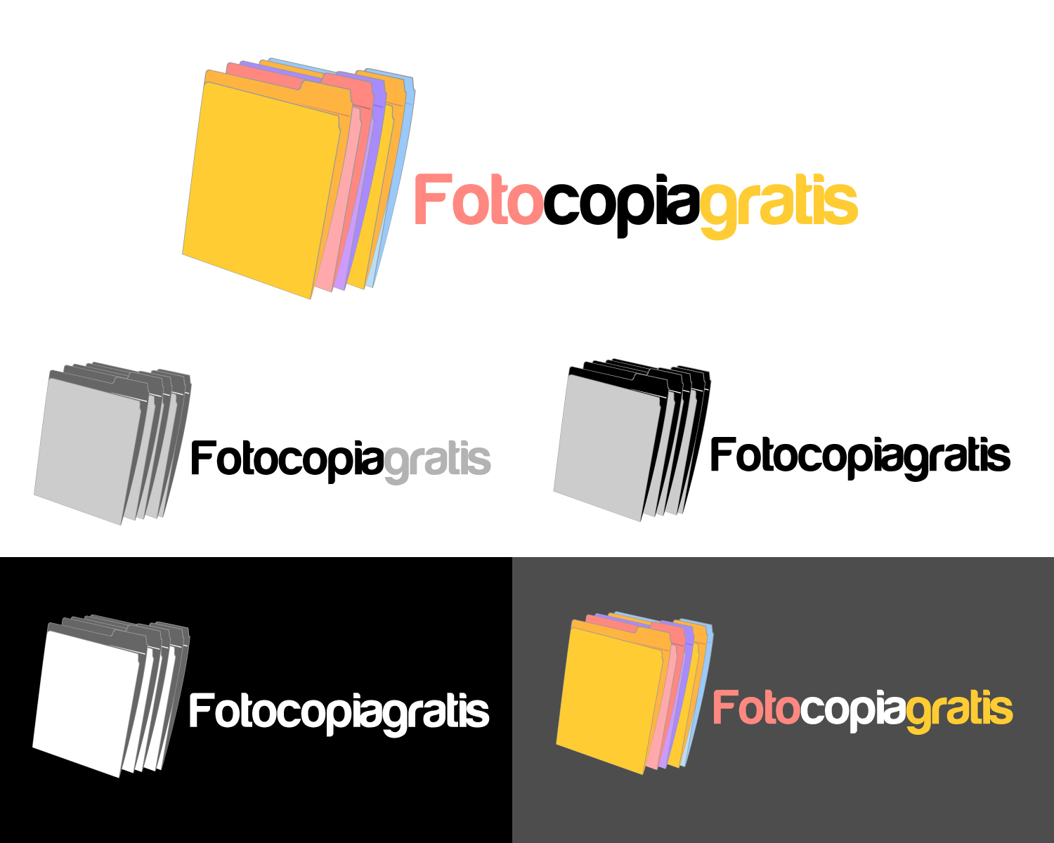 Logo Design by Jagdeep Singh - Entry No. 56 in the Logo Design Contest Inspiring Logo Design for Fotocopiagratis.
