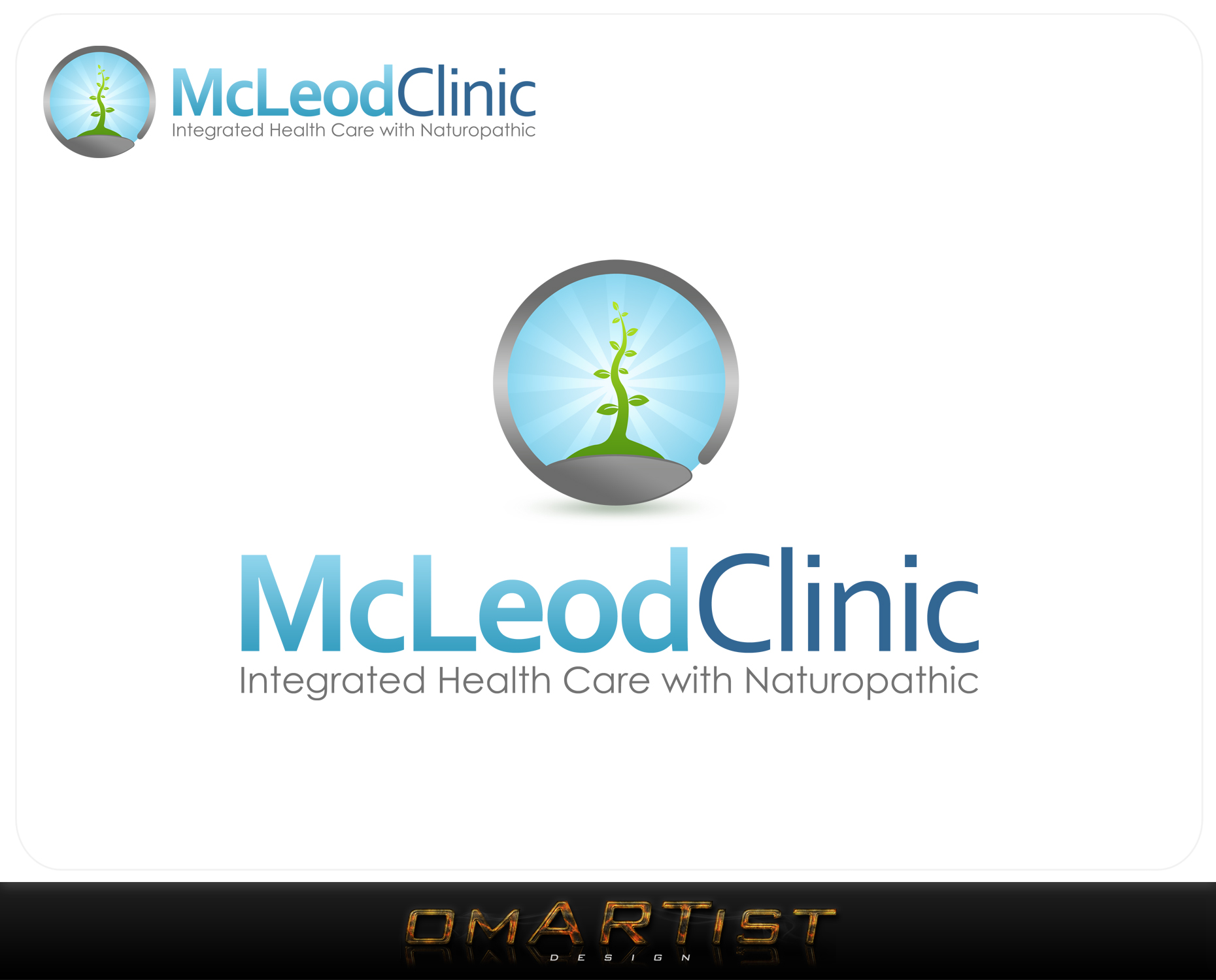 Logo Design by omARTist - Entry No. 103 in the Logo Design Contest Creative Logo Design for McLeod Clinic.