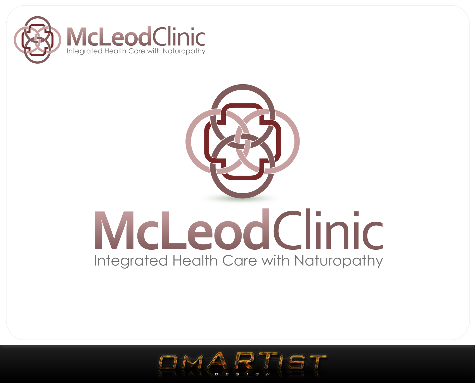 Logo Design by omARTist - Entry No. 109 in the Logo Design Contest Creative Logo Design for McLeod Clinic.