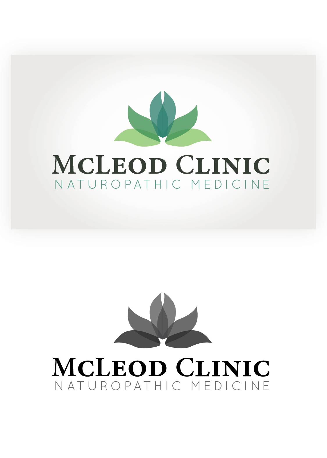 Logo Design by Gnnosch - Entry No. 111 in the Logo Design Contest Creative Logo Design for McLeod Clinic.
