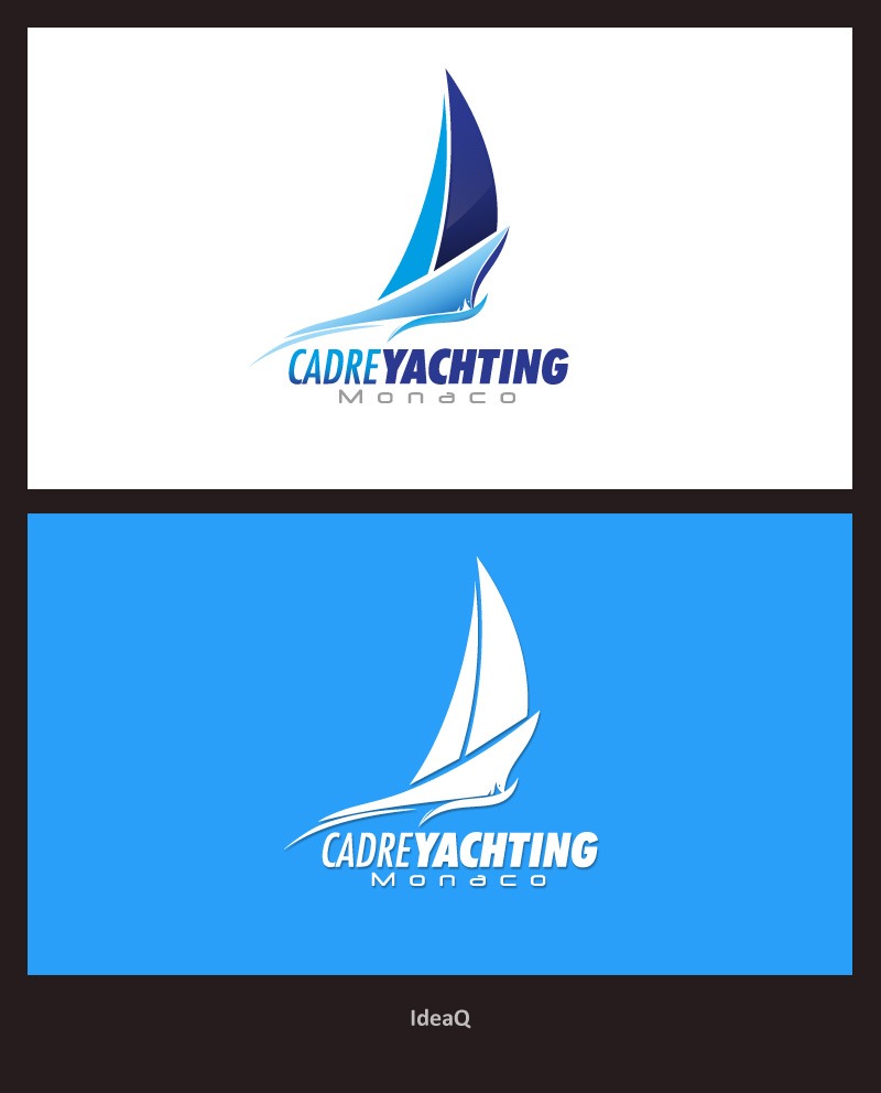 Logo Design by Private User - Entry No. 142 in the Logo Design Contest New Logo Design for Cadre Yachting Monaco.