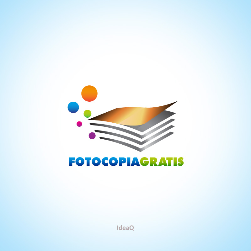 Logo Design by Private User - Entry No. 62 in the Logo Design Contest Inspiring Logo Design for Fotocopiagratis.