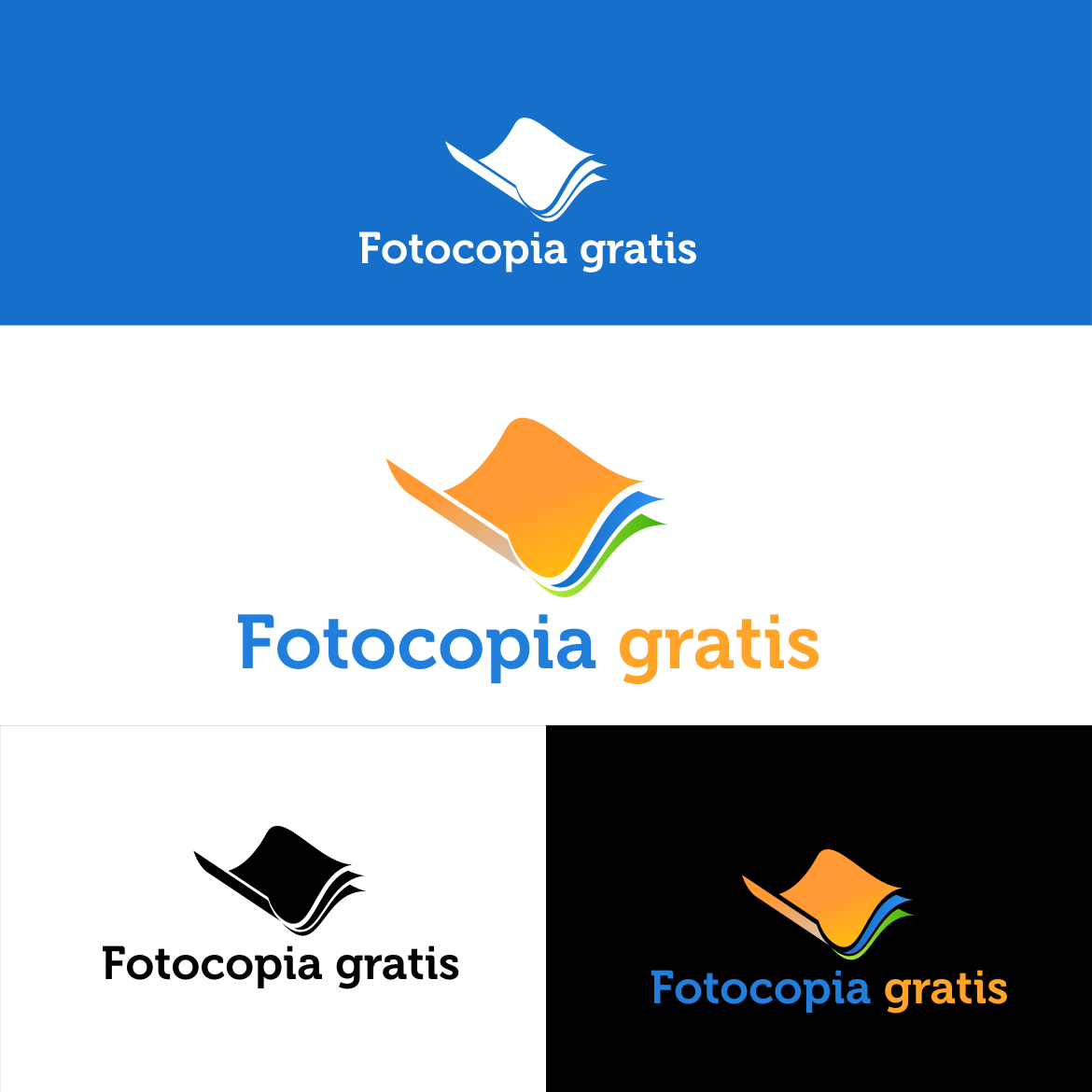 Logo Design by rifatz - Entry No. 66 in the Logo Design Contest Inspiring Logo Design for Fotocopiagratis.